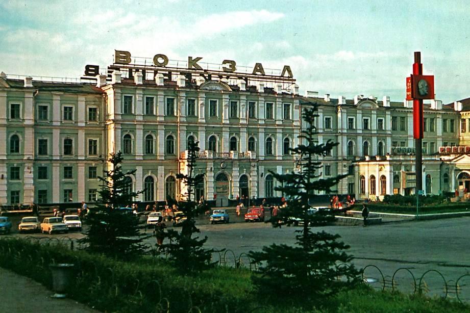 Железнодорожный вокзал | Справочник туриста по Самарской области